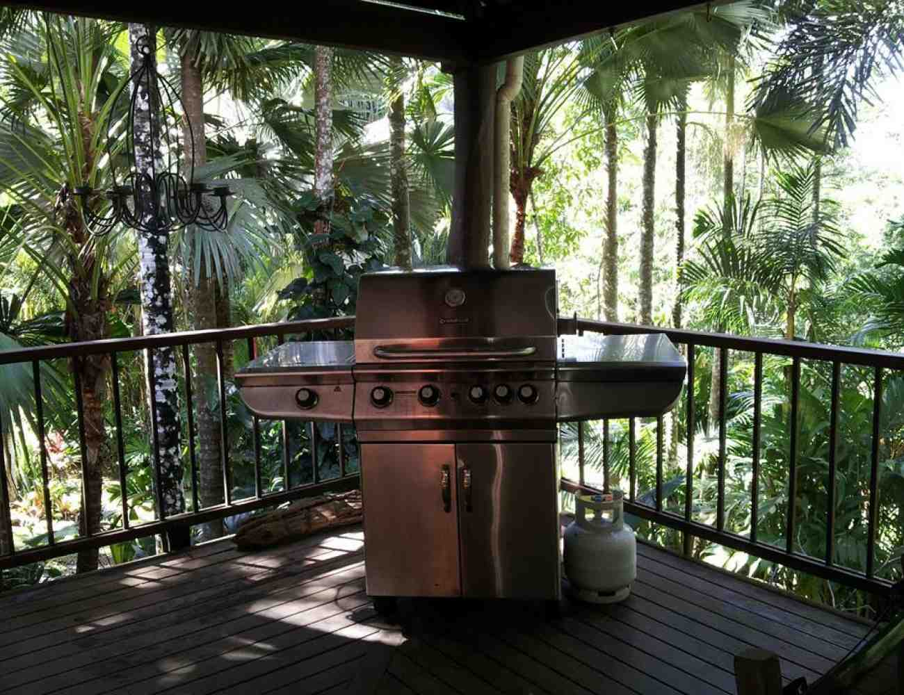 Villa-Zena - Verandah BBQ