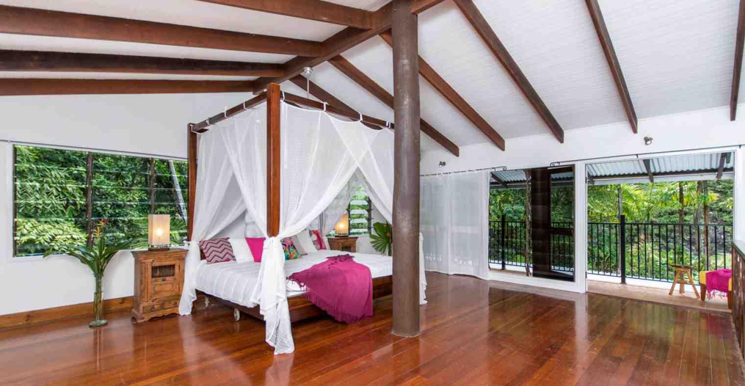The mountain view room - Villa Zena
